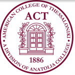 American College of Thessaloniki (ACT) Logo